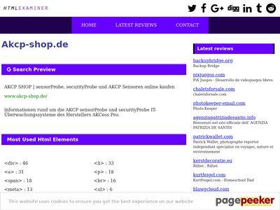 akcp-shop.de.htmlexaminer.com