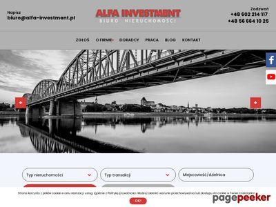 Biuro nieruchomości Alfa Investment N.D.F. Toruń