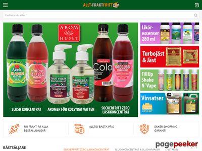 Fraktfri Online Butik - Handla online,  köp fraktfritt - http://allt-fraktfritt.com
