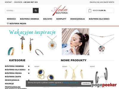 Kolczyki srebrne celebrytki sklep AnKa Biżuteria