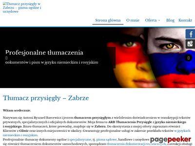 ARB Tłumaczenia rosyjskiego zabrze