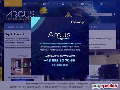 Argus Akwarystyka - Budowa, montaż, aranżacja