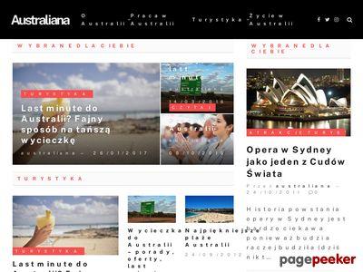 Australia - podróże, studia