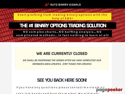AutoBinarySignals.com | Binary Options Trading Solution