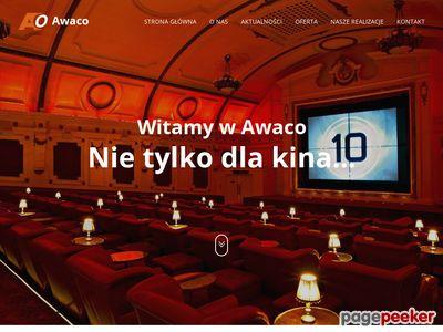 AWACO Project Sp. z o.o. wyposażenie kin