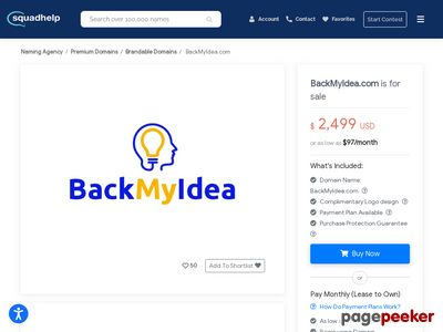 backmyidea.com