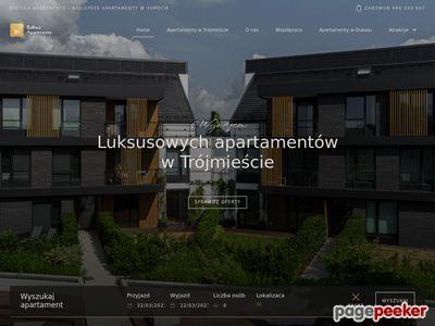 Apartamenty na wynajem Sopot
