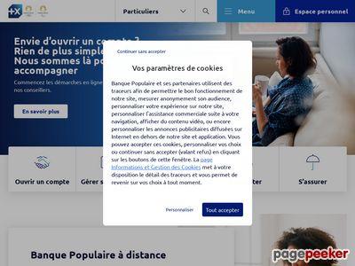 banquepopulaire.fr thumbnail