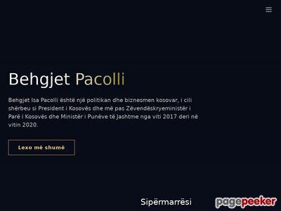 behgjetpacolli.com