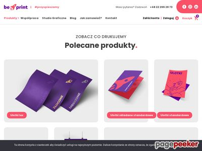 BePrint - drukarnia internetowa Kraków