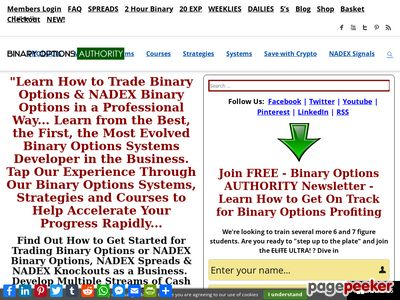 Binary Options Trading Systems and Strategies »