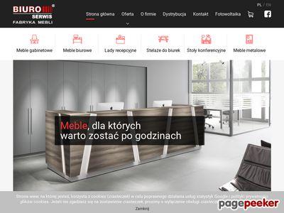 Biuro-serwis - meble dla przestrzeni biur polskiej produkcji