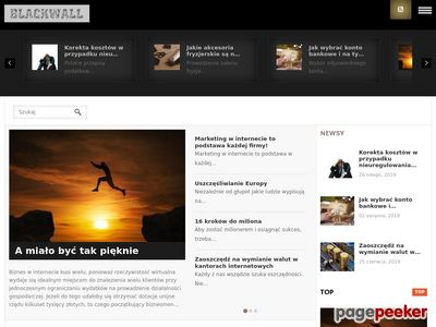 Blackwall.pl blog lifestyle