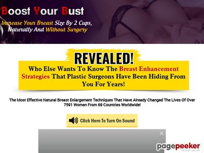 Boost Your Bust – How To Make Your Breasts Grow Naturally boostyourbust