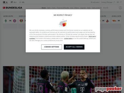 Bundesliga.com - Portal sportowy