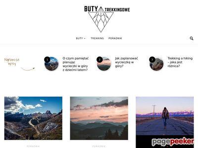Buty Trekkingowe - Blog o butach