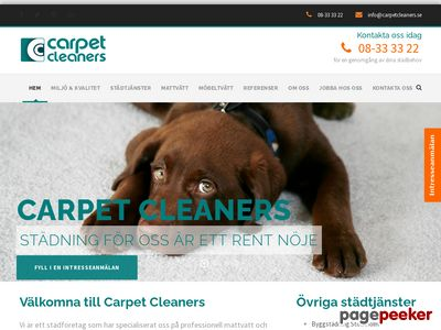 Carpet Cleaners - http://carpetcleaners.se