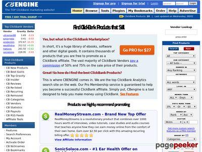 ClickBank Marketplace – CBENGINE cbengine