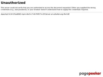 Celluliter-gropar under huden - http://celluliter.org