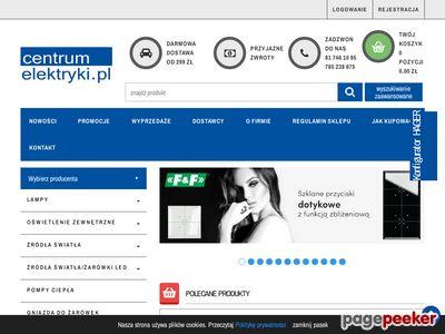 Internetowy sklep elektryczny
