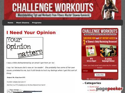 challengeworkouts