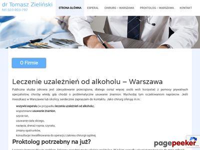 Profesjonalny proktolog Warszawa