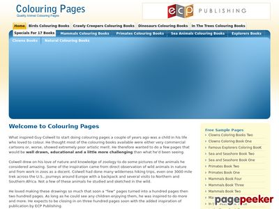 Coloring Pages | Colouring Books | Quality Animal Colouring Pages 1