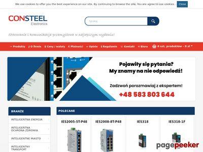 Automatyka i elektronika przemysłowa - CONSTEEL