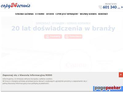 Copy24serwis.pl serwis kserokopiarek Warszawa