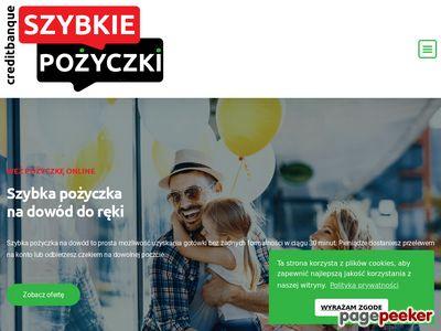 Pożyczki-Chwilówki na dowód Łódź