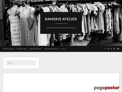 """Odzież Damska - Sklep Internetowy """"Atelier"""""""