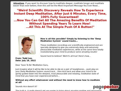 Deep Meditation System | Instant Deep Meditation | Improve Memory | Strengthen Concentration | Boost IQ | Increase Focus 1