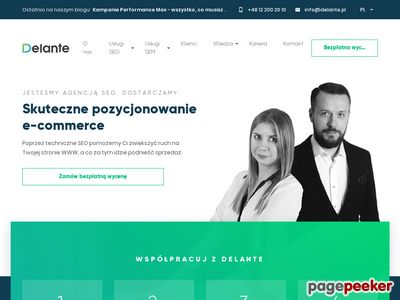 http://delante.pl - Content marketing, SEO, PPC