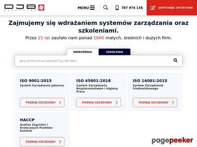 ISO 14001 - DJB Doradztwo Marcin Choraży Łódź