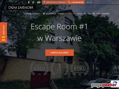 Dom zagadek Warszawa - domzagadekvr.pl