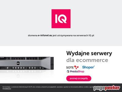 E-infonet.eu | Tworzenie stron Toruń