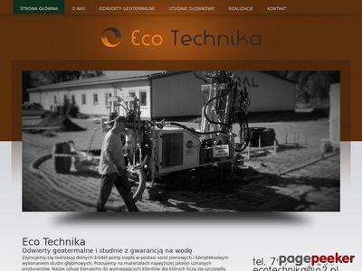 Studnie głębinowe Eco Technika