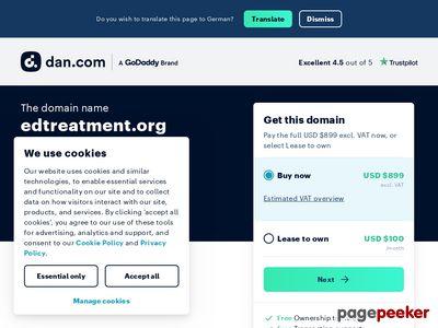 EDTreatment.org | Natural ED Cure 1
