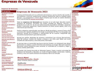 empresasdevenezuela.com