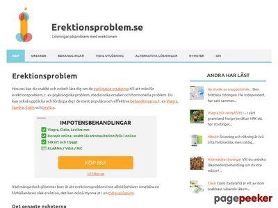 Erektionsproblem.se: Din guide till b�ttre erektion - http://erektionsproblem.se