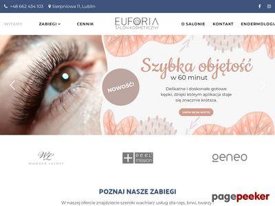 Opalanie natryskowe, makijaż permanentny Lublin - Euforia