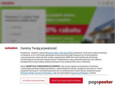 Projekty domów parterowych Extradom.pl