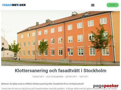 Fasadtv�tt Stockholm - http://fasadmetoder.se