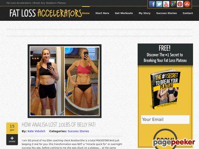 Fat Loss Accelerators | Break Any Stubborn Plateau fatlossaccelerators