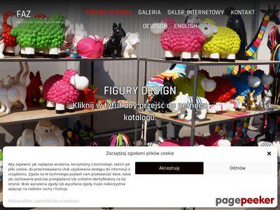 Różnego typu figury ogrodowe - faz.pl