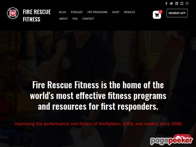 FRF Fire Rescue Workout Programs for all levels... - Firefighter Fitness Training Program | Firefighter Workout Program 1