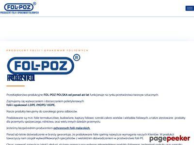 FolPoz - opakowania foliowe