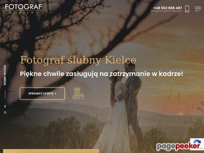 Fotografia ślubna Kielce - Fotografmobilny.pl
