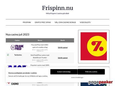 Gratis frispinn - http://frispinn.nu