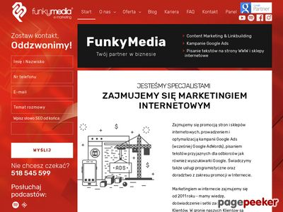 Projektowanie stron internetowych Łódź